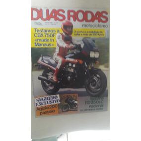 Revista Duas Rodas Nº 130 - Abril/1986