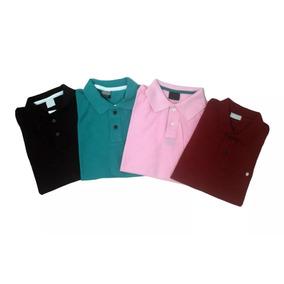 Kit 4 Camiseta Polo Grande Plus Size Masculino Mega Promoção 859f0281a7ca6