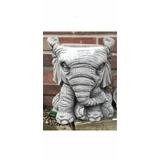 Maceta Elefante Animal Concreto