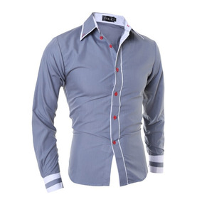 Camisa Masculina Social Slim Fit Preço Promocional Aproveite. 3 cores. R  69 7e5f60daa5150