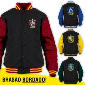 Jaqueta Harry Potter Moletom Blusa College (escolha A Cor)