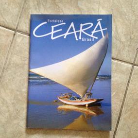 Livro Fortaleza Ceará Brasil 58 Páginas Com Turismo E Mapa