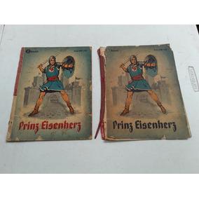 1 E 2 Volume De Revista Em Quadrinhos Alema Prinz Eisenherz