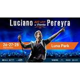 Entrada Luciano Pereyra. Platea Preferida