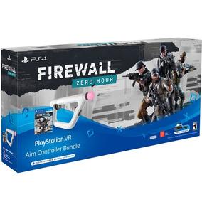 Controle Sony Ps4 Vr Aim Controller + Jogo Firewall Zero