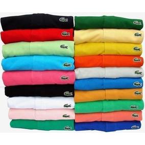 369de12cad Kit 10 Camisas Polo Masculinas Atacado Varias Marcas - Calçados ...