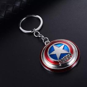 Chaveiro Escudo Do Capitão América - Os Vingadores