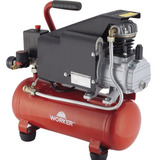 Compressor Ar Profissional 1hp 127 Ou 220v 6 Litros Worker