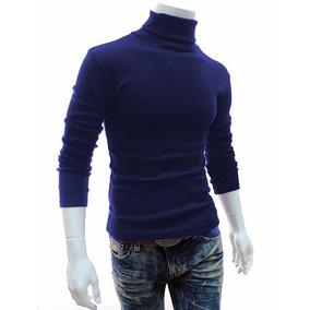 a99b451f9d Blusa Gola Role Masculina - Camisetas e Blusas Manga Longa para ...