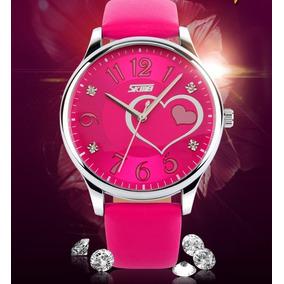Relógio Feminino De Pulso Quartz Skimey