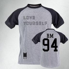 44e5d46334fd4 Camiseta Love Yourself Bts Tamanho G - Camisetas Manga Curta no ...