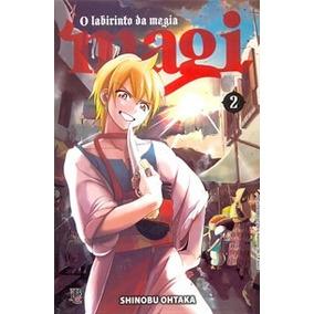 Mangá Magi - O Labirinto Da Magia - Volume 2