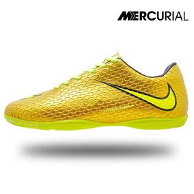 fcb2fb7e21 Tenis Futsal Nike Mercurial Cr7 - Chuteiras para Futsal Dourado no ...