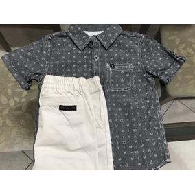 d6d11c69f6f1f Bermuda Infantil Calvin Klein - Calçados, Roupas e Bolsas no Mercado ...