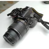 Nikon D5300+objetivo 18-55mm+telezoom 70-300mm+gran Angular