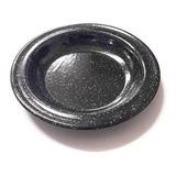 Plato Enlozado Hondo 25,5 Cm Para Horno / Cocina