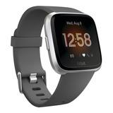 Smartwatch Fitbit Versa Lite Aluminum Plata