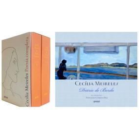 Box Cecília De Meireles Poesia Completa + Diário De Bordo