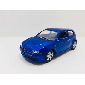 Miniatura Alfa Romeo 147 Gta Azul 1/32 Kinsmart