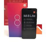 Xiaomi Mi 8 Lite Preto 64gb + 4gb Ram