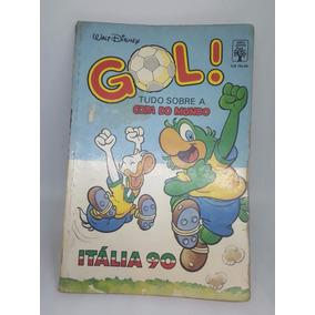 Hq Disney Especial Gol Tudo Sobre A Copa Do Mundo Itália 90