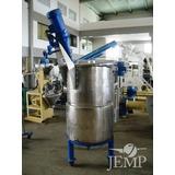 Tanque Misturador Aço Inox, Cap. 0,3m³