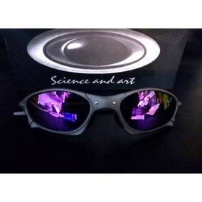 107f7ab345 Oculos Oakley Juliet Penny Roxa Metal Polarizado Certificado. R  89