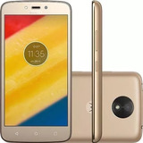 Smartphone Motorola Moto C Plus 16gb Dual + Fone + Original