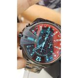 Reloj Diesel Dz 4318 Negro Metalico ( Bajo Pedido )