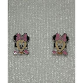Aretes Disney Baby Minnie Mouse Plata 9.25