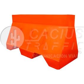 Barrera De Plástico Bicentenario Naranja Para Protección