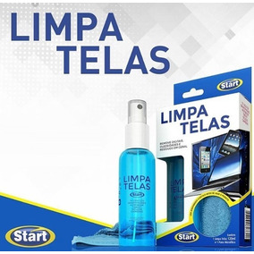 Limpa Telas Start 120ml + Pano Microfibra