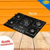 Cocina Encimera A Gas Challenger Sq-6778 5q Gratis Instal.