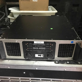 Amplificador 4000watts Decomac Times One Dhx 4000 Venda