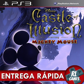 Mickey Mouse Castle Of Illusion - Jogos Ps3 Psn