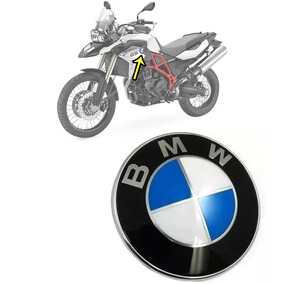 Adesivo Emblema Tanque Bmw Moto F800 Gs 1200 Aluminium Unid.