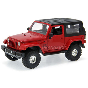 Jeep Wrangler 2007 Jada Toys 1:24 96956-vermelho