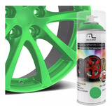 Spray Envelopamento Liquido 400ml Verde Fluorescente Au425