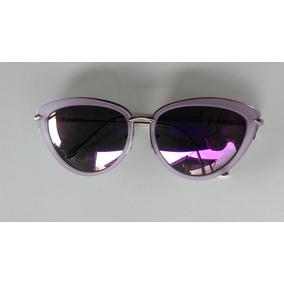 19ccce2224aaa Óculos De Sol Feminino Espelhado Modelo Gatinho Frete Grátis