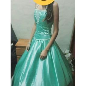 717442df8 Vestido Para 15 Años Color Verde Manzana - Vestidos de 15 Largos de ...