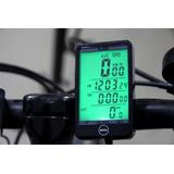 Velocímetro Odômetro Para Bicicleta Sem Fio Luz Noturna