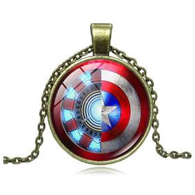 Dije Vengadores / Avengers Ironman Capitán América + Envio