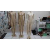 3 Manequins Femininos