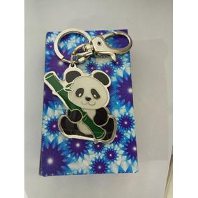 Chaveiro Metal Urso Panda