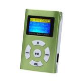 Mp3 Pantalla No Incluye Audifonos, Usb Ni Micro Sd Verde