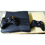 Xbox 360 Slim Negro- 250 Gb - 2 Controles - Cable Hdmi