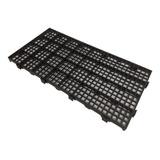 Kit 10 Estrados Plásticos 50x25x2,5 Cm Piso Modular Pallet