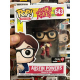 Funko Pop Movies Austin Powers Exclusivo Game Stop #643