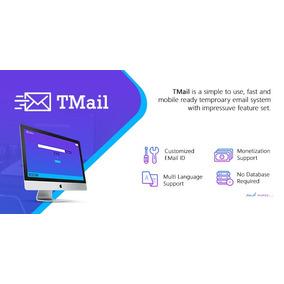 Script Tmail V4.1 - Sistema De E-mail Temporário De Múltiplo