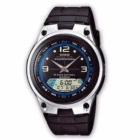 86743a42f24 Caixa De Relogio Casio Aw 82 - Relógios no Mercado Livre Brasil